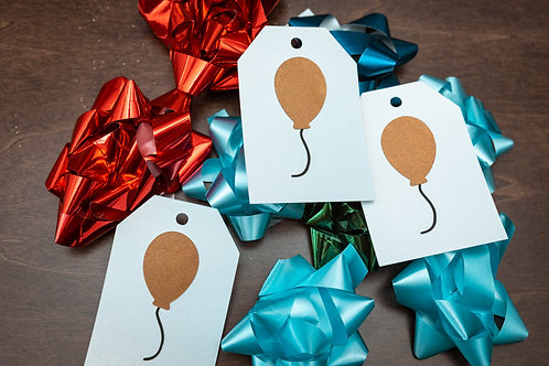 Balloon Gift Tags