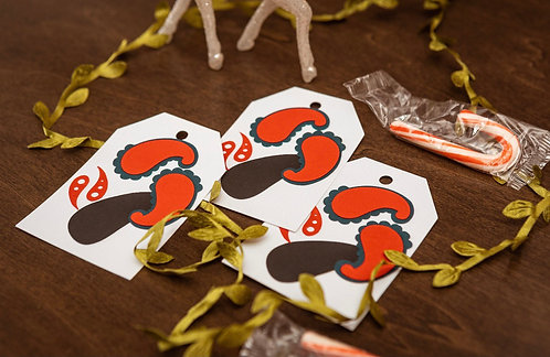 Paisely Gift Tags
