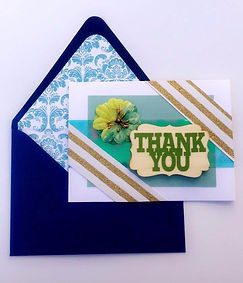 Custom Thank You Greeting Cards