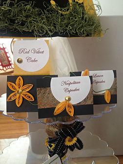 Dessert Placecards