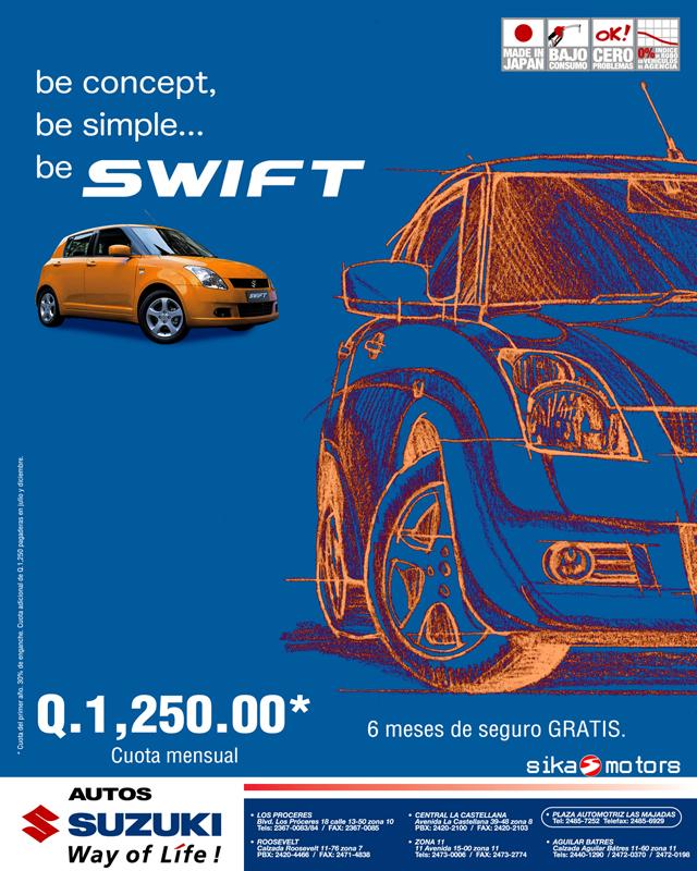 MODELO DEL AÑO - SUZUKI SWIFT