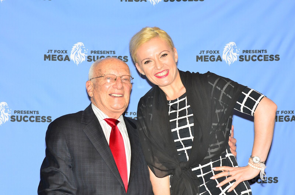 Silvija Popovic with George Ross at 2017 Mega Success
