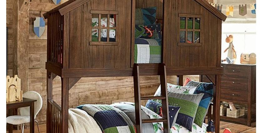 樹屋床 P225-1048 overhead  bed
