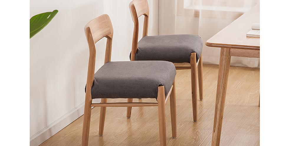 實木簡約現代餐椅 F224-1075