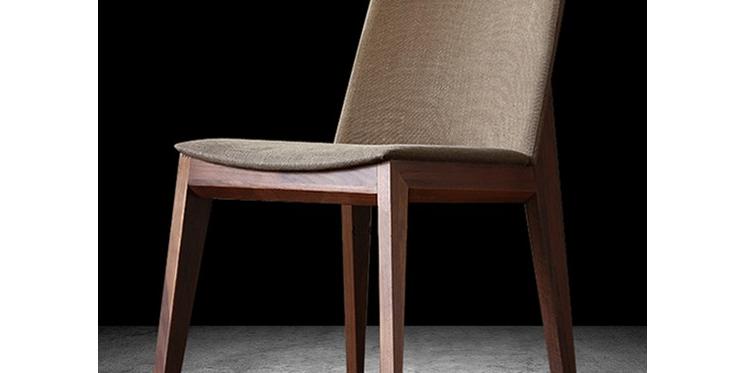 北歐簡約現代斜邊餐椅(同色4張)   F123-1077