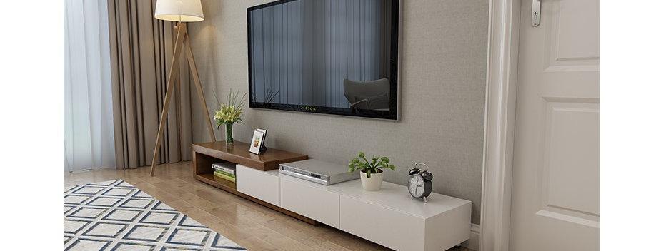 北歐簡約伸縮現代電視櫃 C209-1052