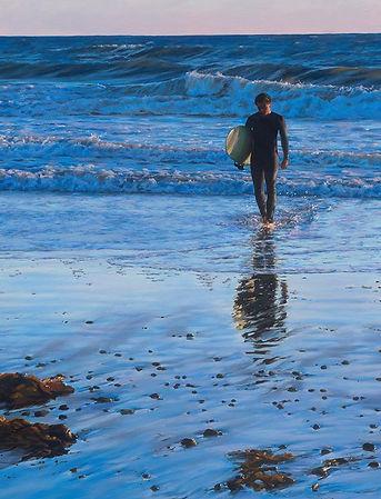 """Surfer""_Oil on Canvas_30x40.jpg"