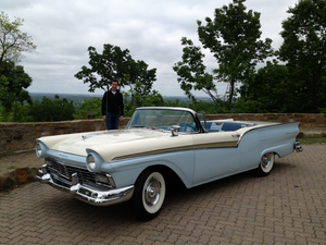 Edna Mae, Tom's Car