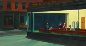 """Edward Hopper's """"Night Hawks"""""""