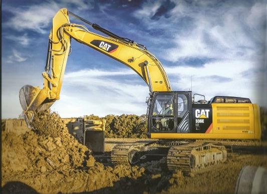 excavator construction sedalia central mo