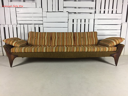 Unk. Sofa #5a