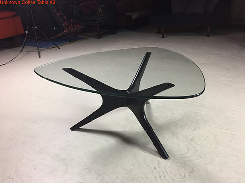 Unk. Coffee Table #3