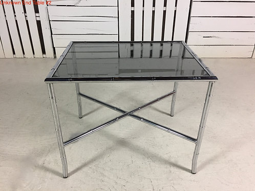 Unk. End Table #2
