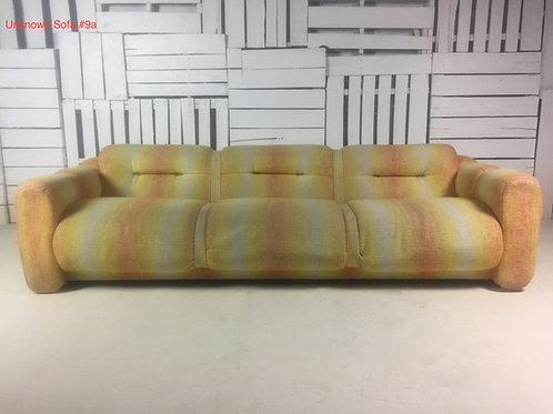 Unk. Sofa #9a