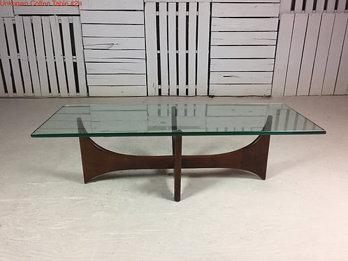 Unk. Coffee Table #2a