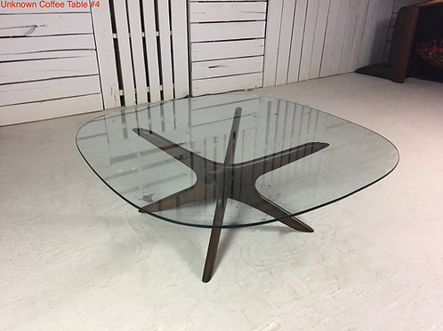 Unk. Coffee Table #4
