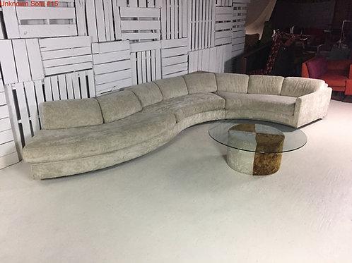 Unk. Sofa #15