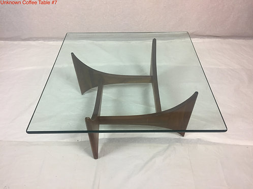Unk. Coffee Table #7