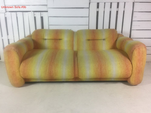 Unk. Sofa #9b