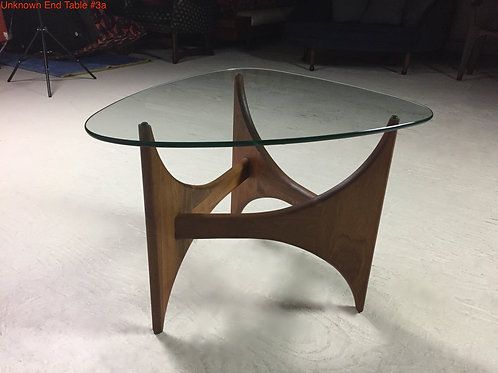 Unk. End Table #3a