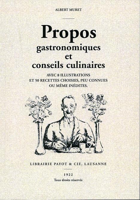 Propos gastronomiques et conseils culinaires