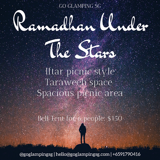 Ramadhan Under The Stars Poster