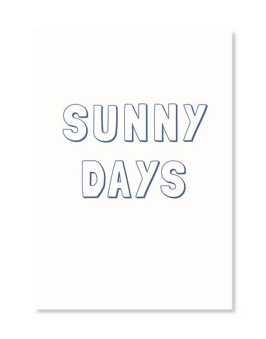 Postcard - SUNNY DAYS