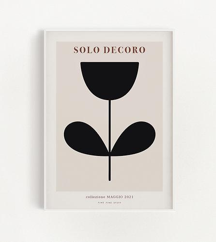 Solo Decoro - black 01