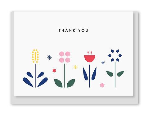 Folding Card / Grußkarte - Thank You