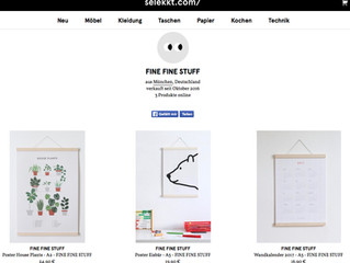 FINE FINE STUFF also on selekkt.com