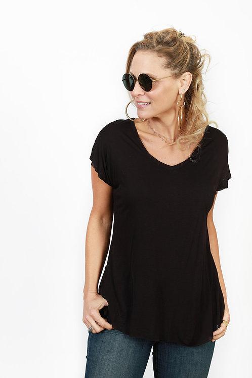 GRACE  חולצה שחורה