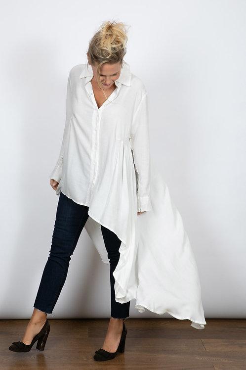 ADDI T חולצת כפתורים לבנה