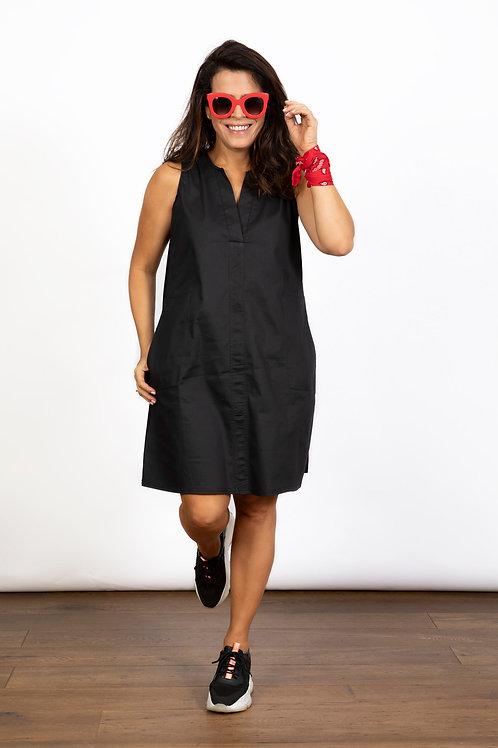 TULIP שמלה מיני שחורה