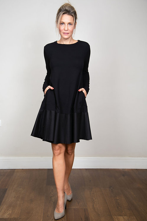 SHINE  שמלה שחורה
