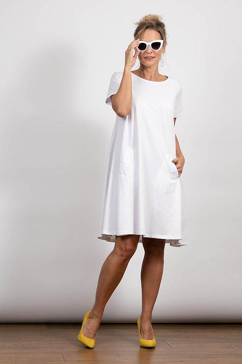 LIRI שמלה לבנה