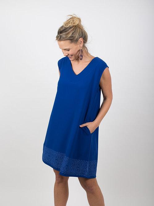 GANDHI שמלה כחולה