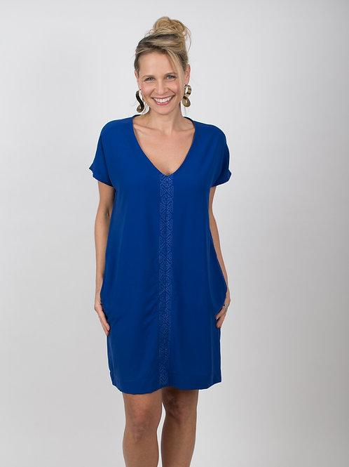 DIANA  שמלה כחולה