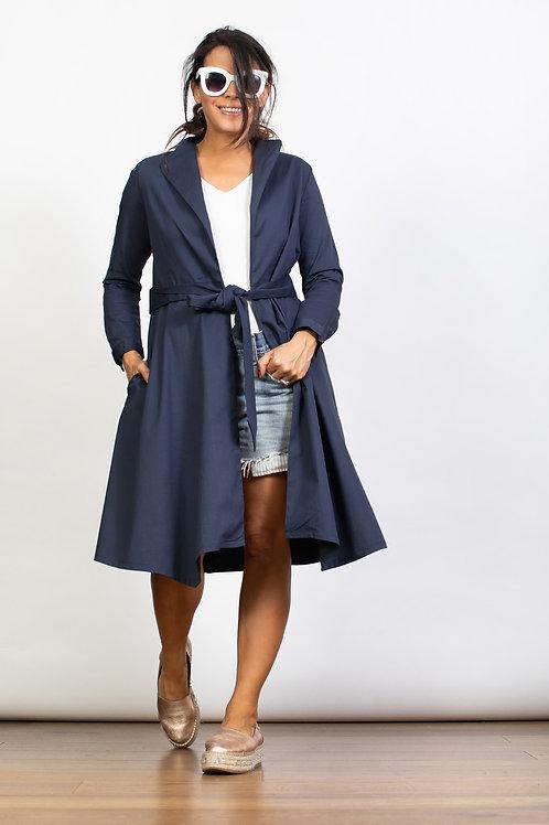 DEMMY שמלה ג'קט כחול