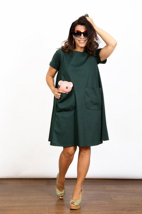 BLOSSOM שמלה עם כיסים