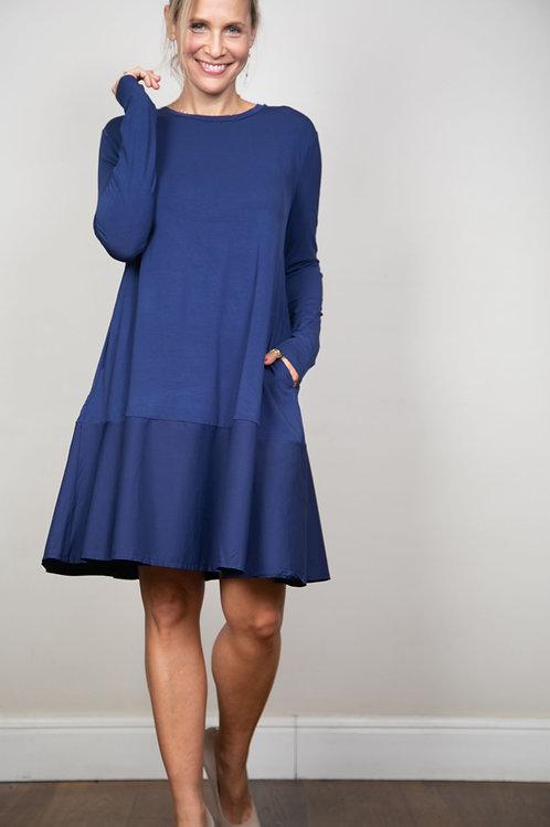 SHINE  שמלה כחולה