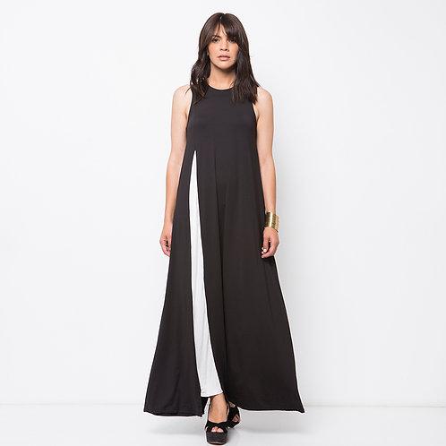 TERESAS  שמלת מקסי שחורה