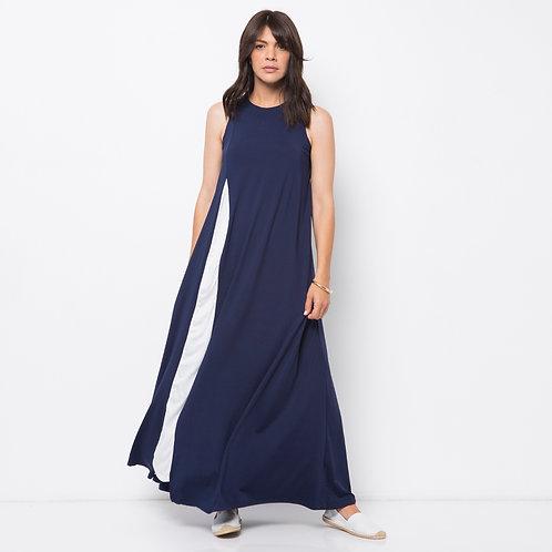 TERESAS  שמלת מקסי כחולה