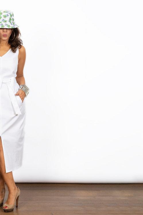 PEONY שמלה לבנה