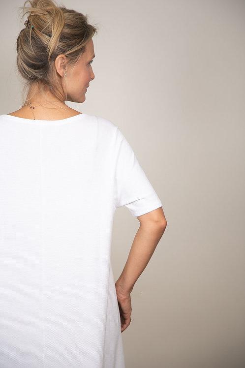 SALK שמלה לבנה