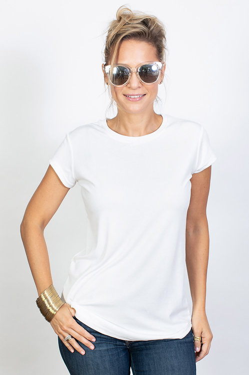 DOLBY חולצה לבנה