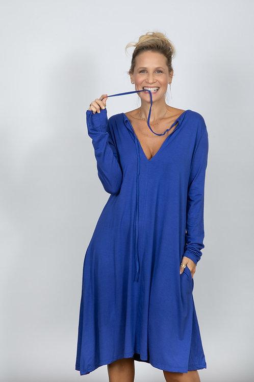 MAR שמלת מידי כחולה
