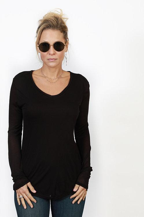 LEIA  חולצה שחורה