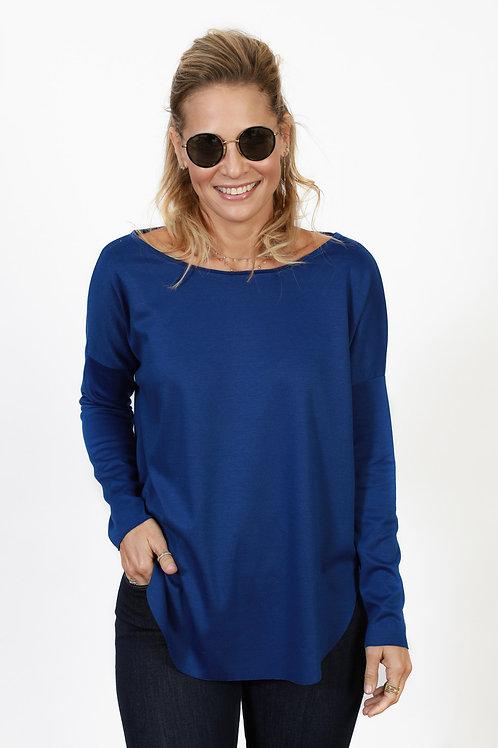 BLUE 2 חולצה כחולה