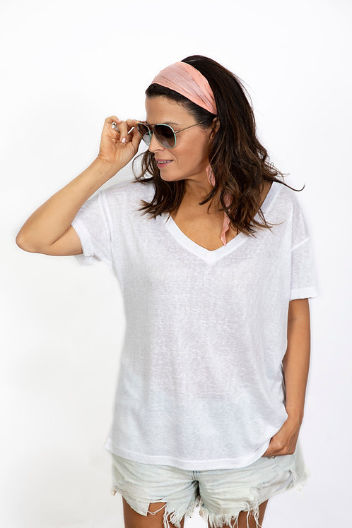 NEWAVEN חולצה לבנה