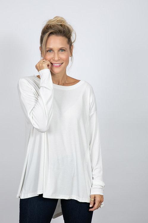 WOLT חולצה לבנה אוברסייז